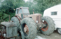 A 1960s Bray Four Nuffield 4X4 tractor