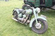 Sunbeam S7 Motorcycle at Rushden 10 - IMG 9494