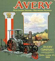 1919 Avery Company catalog cover