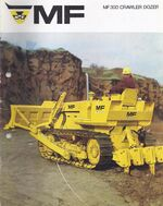 MF 300 crawler brochure