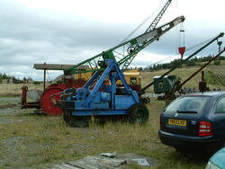Ransomes and Rapier yard crane