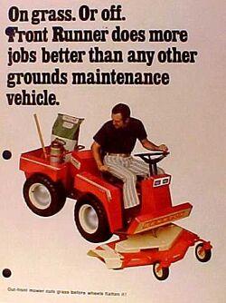 Hesston Front Runner mower brochure