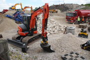 Kubota KX057-4 - Engon hitch at Hillhead 2012 - IMG 1268