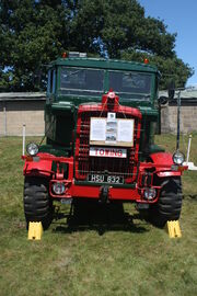 Scammell Explorer HSU 832 at Woolpit 09 - IMG 1465