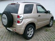 Suzuki Grand Vitara rear 20070902