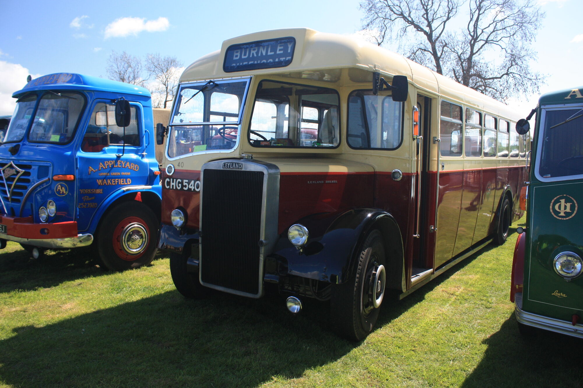 list of leyland buses