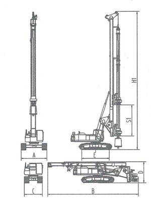 Piling rigs DFU200