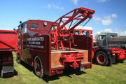 Thornycroft reg SSU 998 recovery truck at Boroughbridge 09 - IMG 8912