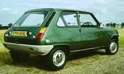 Renault 5TL rear three quarters 1972