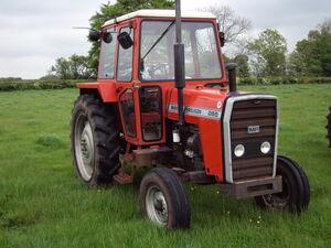 MAssey Ferguson 265 ex G Forrester sale - 9200quid