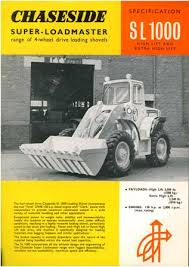 A 1970s Chaseside SL1000 loader