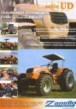 Zanello (ZG-Trac) UD-series brochure - 2006-2011