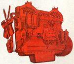 International D-691 engine 1952