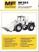 MF 55c wheel loader