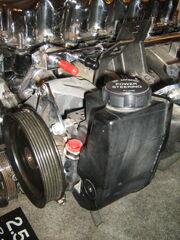 Jeep 2.5 liter 4-cylinder engine chromed h