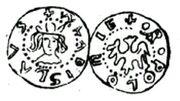 Denar Wladyslawa Lokietka