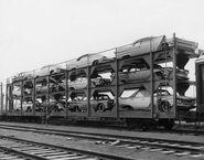 Early Autorack Car