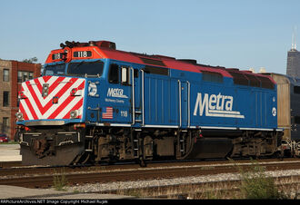 Metra F40PH-3