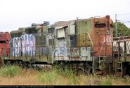 Scrapped North Coast Ex SP GP9 units