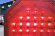 Union Pacific L.E.D. gate light octagon shaped gate light