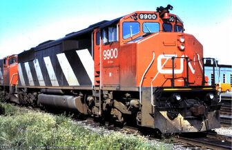 CN 9900 SD50AF