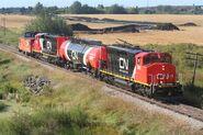CN Natural Gas Diesels