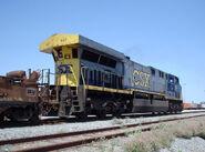 CSX AC6000CW rear