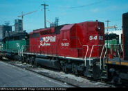 Former NS CP SD40-2