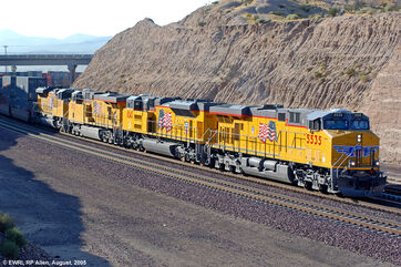 UP GEVO's and SD70's