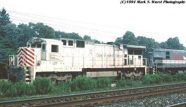 Coal-powered C39-8