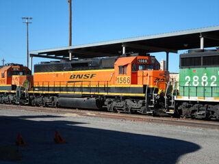 BNSF SD40-2R (ex-ATSF SD45-2)