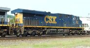 CSX ES44AC rear