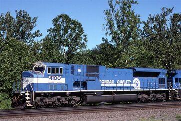 Conrail SD80MAC