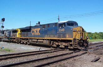CSX ES44DC