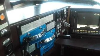 Cranking a GE Evolution locomotive for an outbound train-0