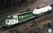 BN LNG SD40-2