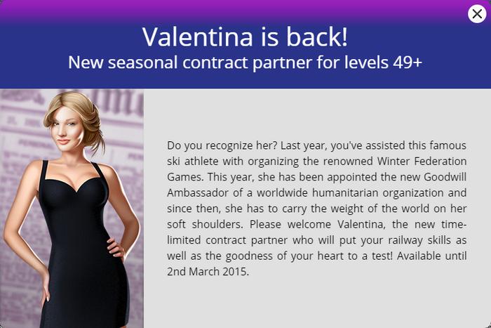 Announcement Valentina (2015)