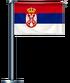 Servië-Vlag