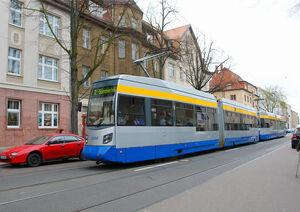 Südstraße lijn 7 Leipzig