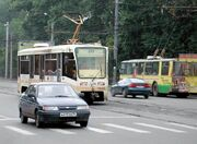 Chelyabinsk tramway, trolleybus and cars