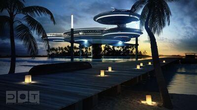 Futuristic-Underwater-Discus-Hotel-in-Dubai-2