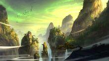 Fantasy landscape m20705