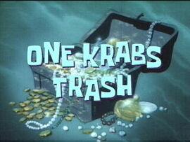 One Krabs Trash