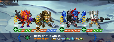 T bots of the abyss
