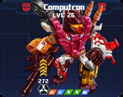 A E Com - Computron pose