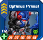 M S Sup - Optimus Primal box 20