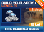 M wave8 lev15 build your army i