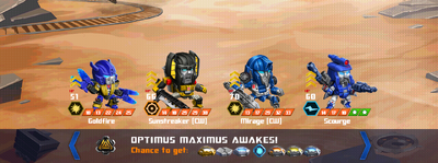 T optimus maximus awake x sunstreaker cw mirage cw x