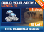 M wave7 lev15 build your army i