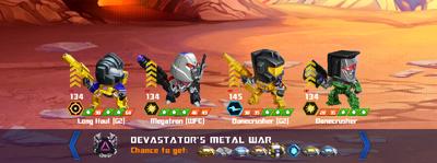 T devastators metal war longhaul x bonecrusher x